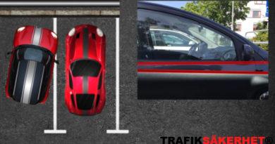 Är det okej att stänga in andra fordon vid parkering?